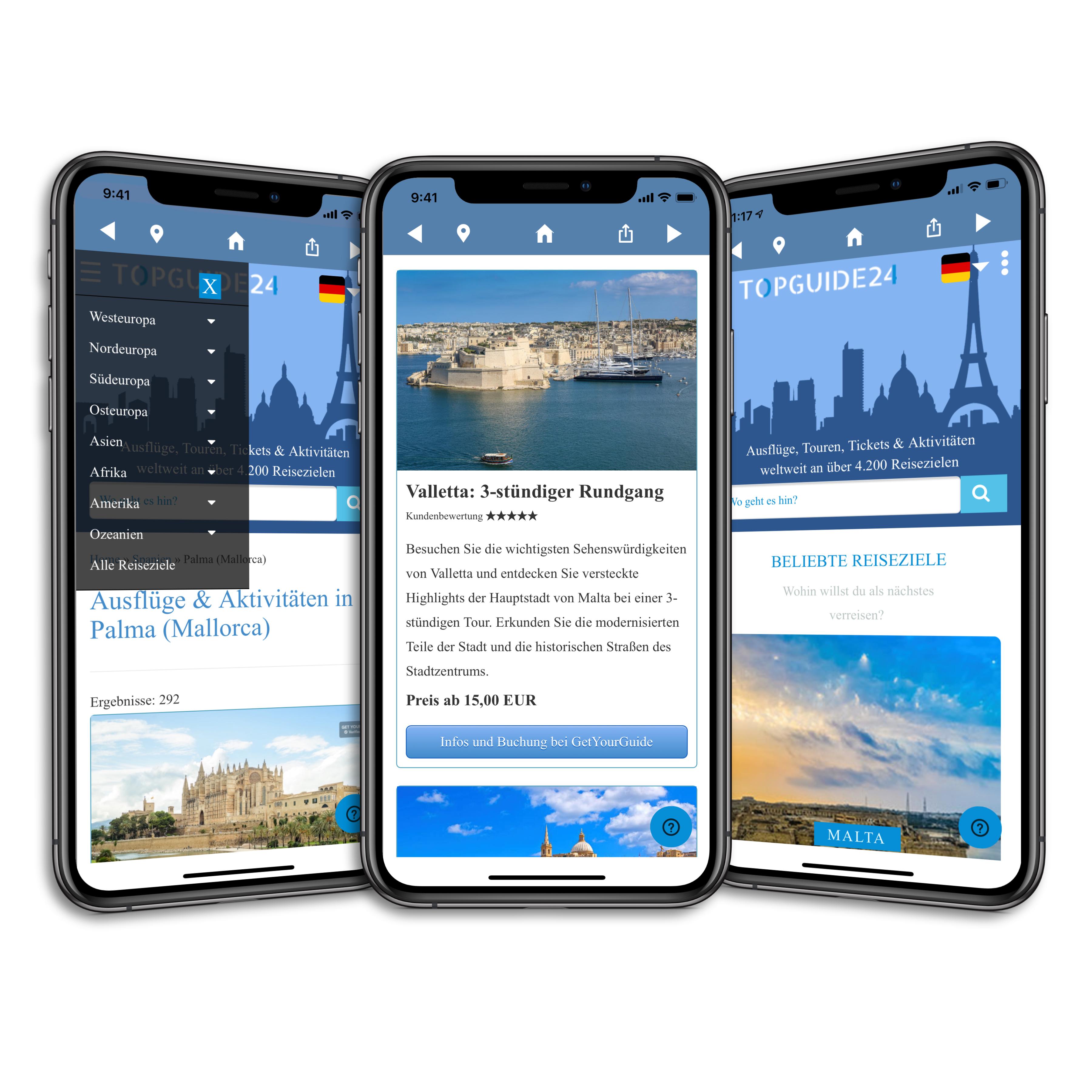 Topguide24 App